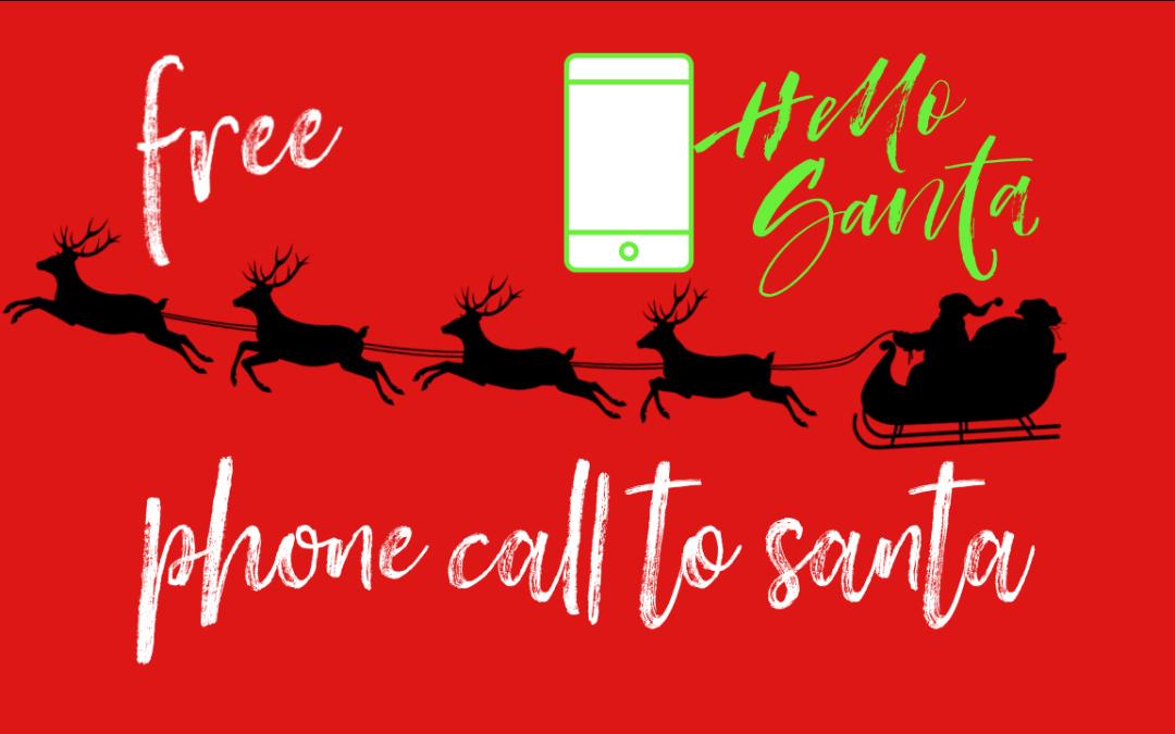 Free Call to Santa's Workshop