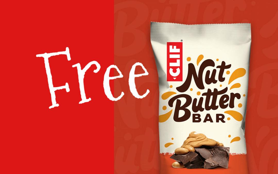 Free CLIF Nut Butter Bar
