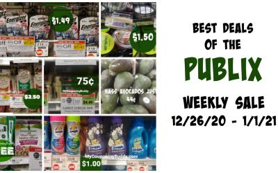 Publix Weekly Sale Best Deals 12/26/20-1/1/21