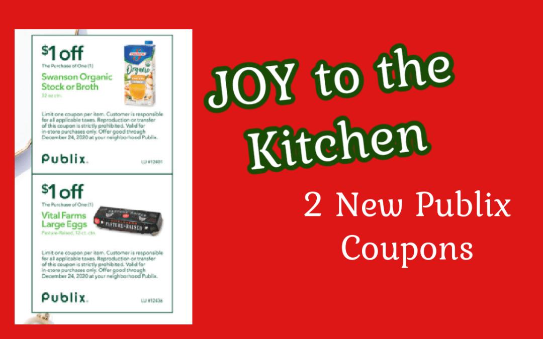 Publix Coupon book Joy to the Kitchen