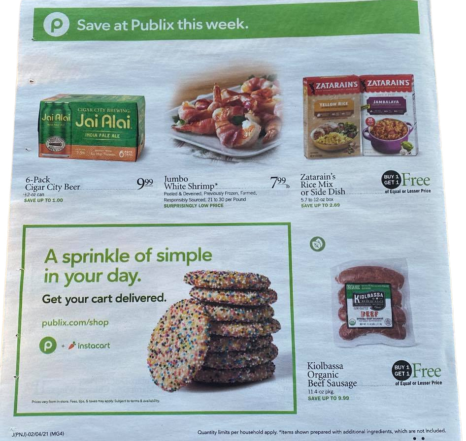 Publix Weekly Sales Ad Preview 2/3/21 - 2/9/21 OR 2/4/21-2/10/21