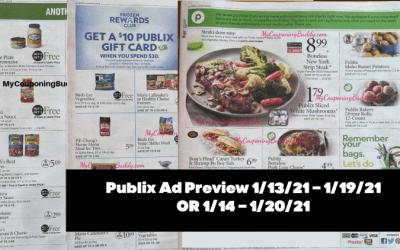 Publix Ad Preview 1/13/21 – 1/19/21  OR 1/14 – 1/20/21