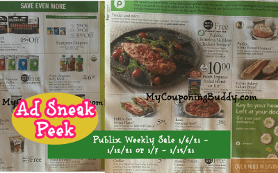 Publix Weekly Sale AD Preview  1/6/21 – 1/12/21 or 1/7 – 1/13/21