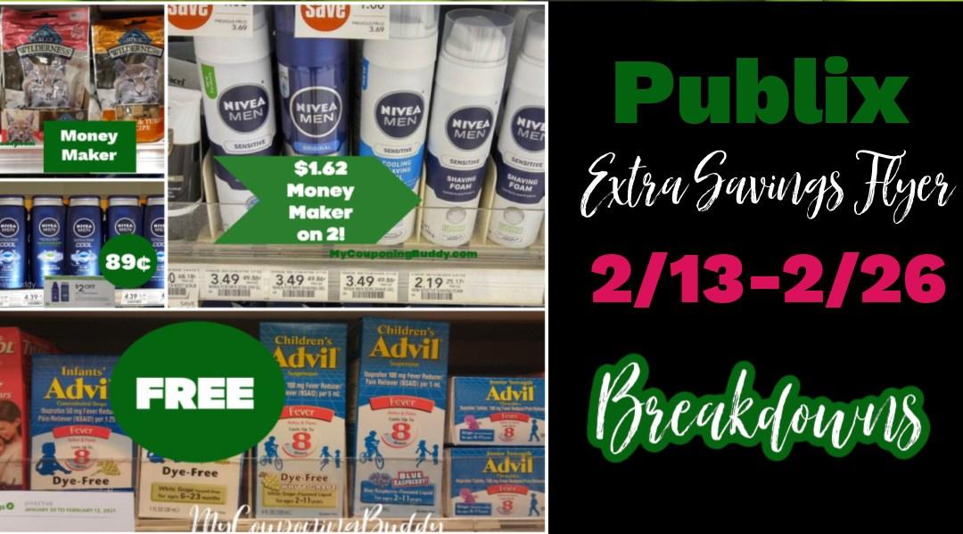 Publix Extra Savings Flyer 2/13/21-2/26/21