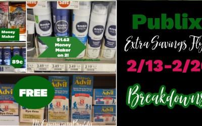 Best Deals ~ Publix Extra Savings Flyer  2/13/21-2/26/21