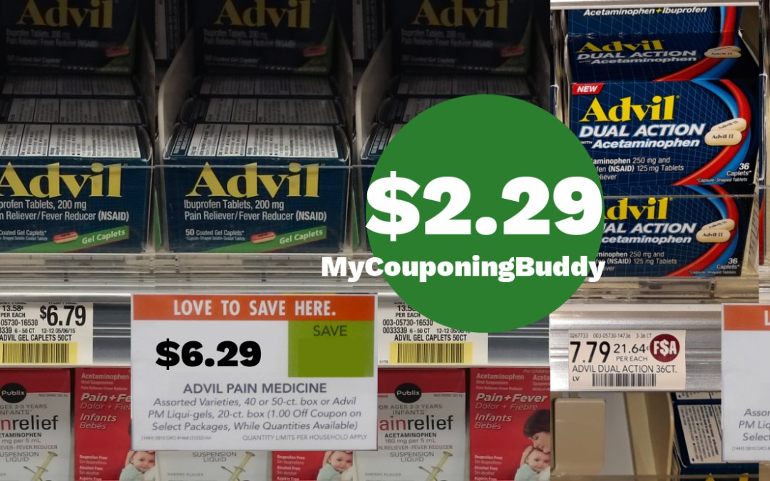 Advil Publix Weekly Sale 2/10/21 - 2/16/21 OR 2/11/21 - 2/17/21