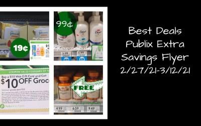 Best Deals ~ Publix Extra Savings Flyer2/27/21-3/12/21