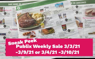 Early Ad Preview Publix Weekly Sale 3/3/21 -3/9/21 or 3/4/21 -3/10/21
