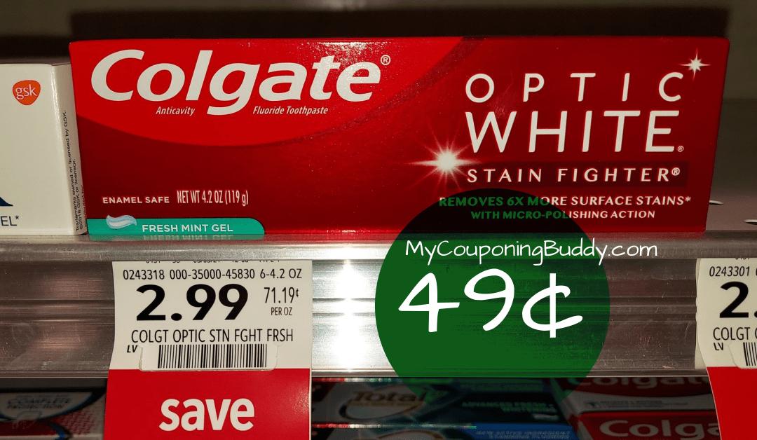 Colgate Publix coupon deal