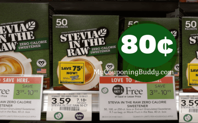 Stevia in the Raw 50 ct box  at Publix
