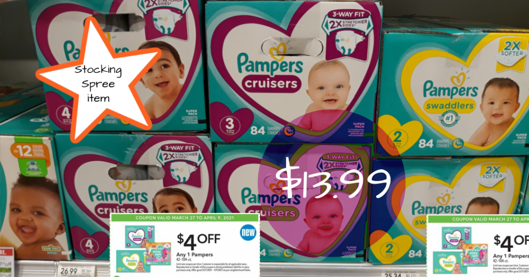 Pampers diapers Early Ad Preview Publix Weekly Sale 4/7/21 - 4/13/21 or 4/8/21 - 4/14/21