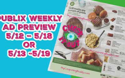 Publix Weekly Ad Preview  (5/12/21 – 5/18/21) Sneak Peek