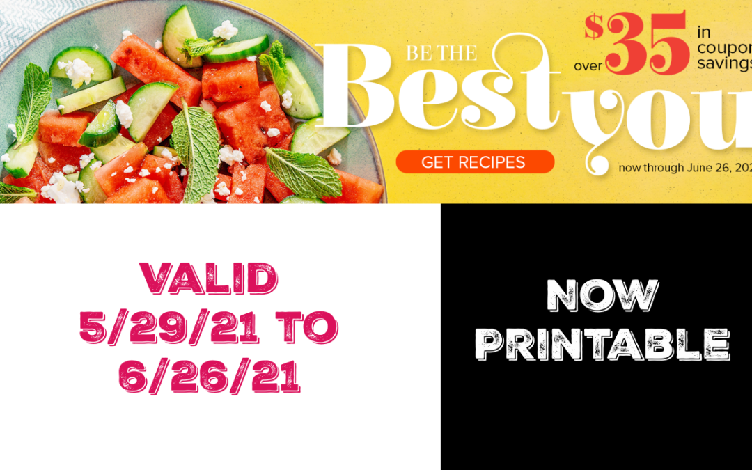 Publix Coupon Book ~ Be The Best You – Now Printable