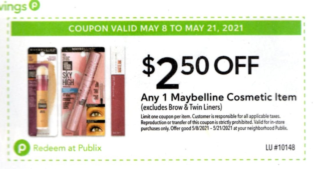 Publix Extra Savings Flyer 5/8/21 to 5/21/21