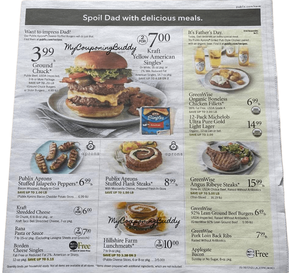 Publix Ad Preview Publix Weekly Sale 6/16/21 to 6/22/21 OR 6/17/21 to 6/23/21