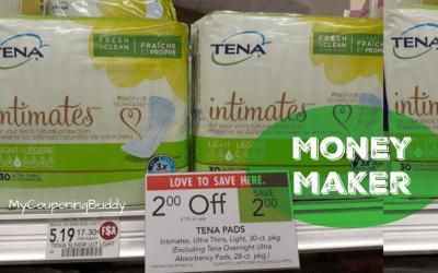 HUGE Money Maker on Tena Pads at Publix