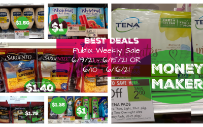 Best Deals ~ Publix Weekly Ad Sale 6/9/21 – 6/15/21 OR 6/10 – 6/16/21