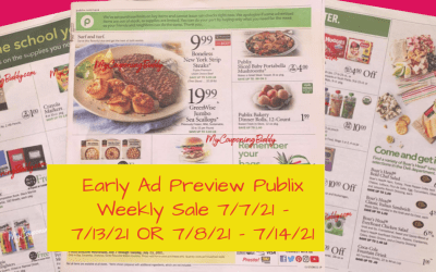 Early Ad Preview Publix Weekly Sale 7/7/21 – 7/13/21 OR 7/8/21 – 7/14/21
