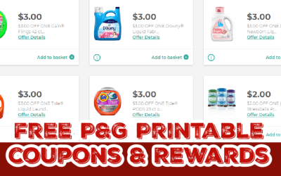 Sign up for P&G Good Everyday Rewards