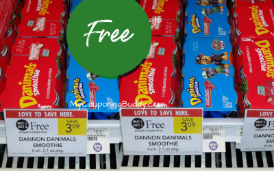 New Coupon: Danimals Smoothies as low as FREE at Publix