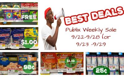 Best Deals ~ Publix Weekly Sale 9/22/21-9/28/21 (or 9/23/21-9/29/21)