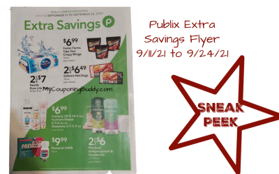 Publix Extra Savings Flyer 9/11/21 to 9/24/21
