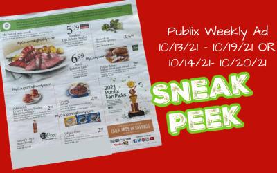 Publix Weekly Ad 10/13/21 – 10/19/21 (OR 10/14 – 10/20/21) Sneak Peek Preview