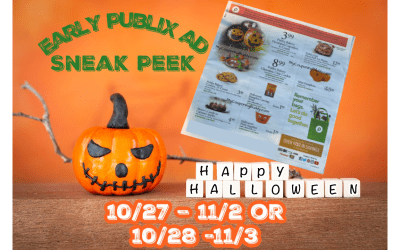 Publix Weekly Ad (10/27/21 – 11/2/21) Early Preview