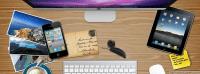 Office Desk - Facebook Timeline Cover
