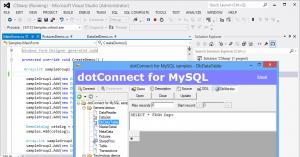 dotConnect for MySQL