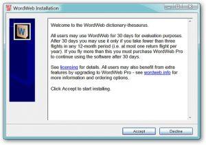 WordWeb 8.22