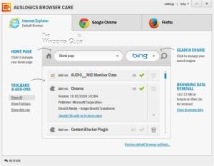 Auslogics Browser Care Crack