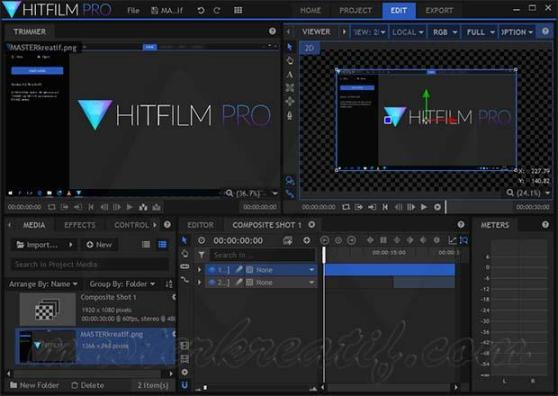 HitFilm Pro 16.1 Crack With Latest Keygen Free Download