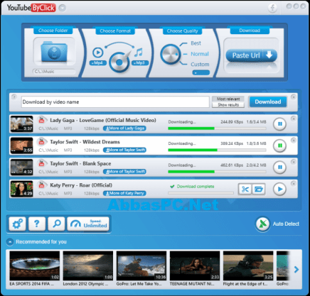 YouTube By Click Premium 2.3.8 Crack With Serial Key Download Free