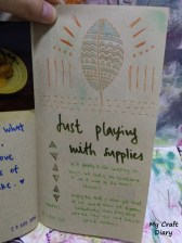 Back to beginnings: uncomplicated journal pages