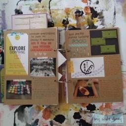 Travel journal flipthrough