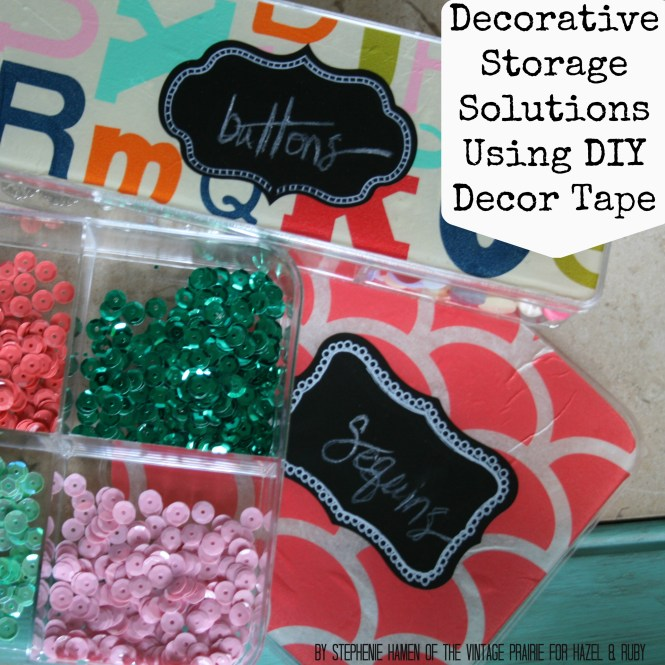 This Candy Cane Stripe Diy Decor Tape Is Great For Any Project