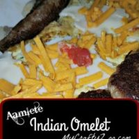 Aamlete: Indian Omelet