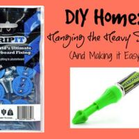 DIY Home: Hanging The Heavy Stuff #BackToSchool