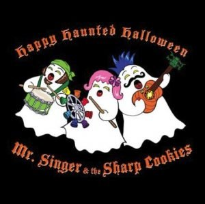 Happy Haunted Halloween by Mr Singer and the Sharp Cookies @MisterSinger #Fall18 @SMGurusNetwork @CraftyZoo