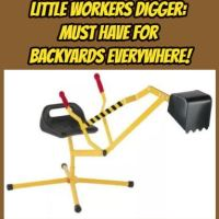 Little Workers Digger: Must Have for Backyards Everywhere!