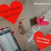 Hanging Hearts Decor DIY Valentine