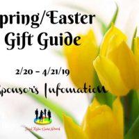 2019 Spring Sponsor Information