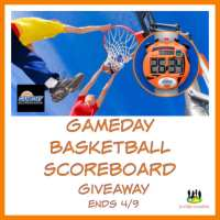 GameDay Basketball Scoreboard #Giveaway @SMGurusNetwork @CraftyZoo