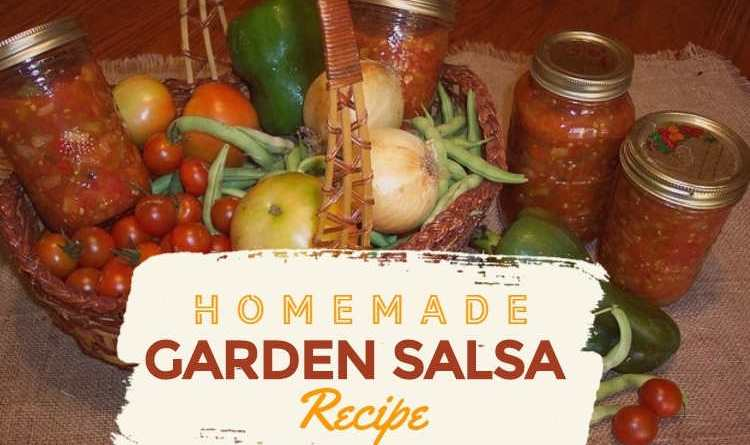 Homemade Garden Salsa Recipe: How to Make Fresh Salsa