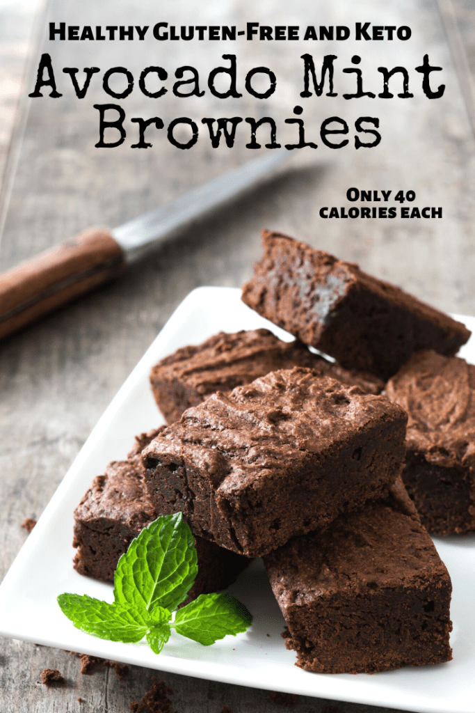 Mint Brownies without chocolate chips