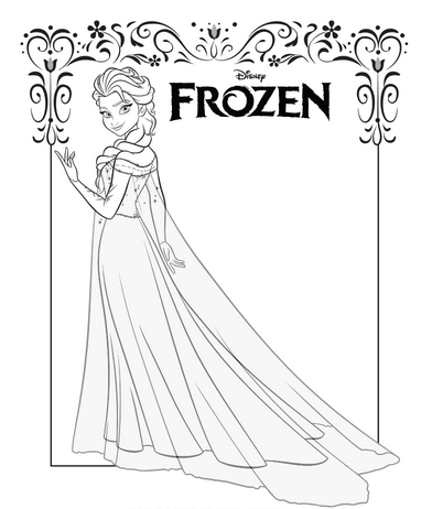 ENDED: Disney's Frozen Activity, Coloring and Craft Sheets