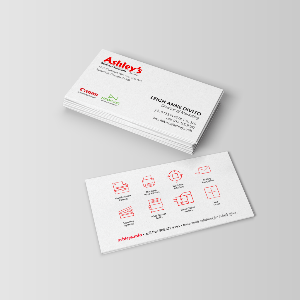 Business Cards | Ashleys Business Solutions