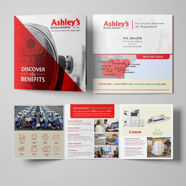Brochures | Ashley Business Solutions