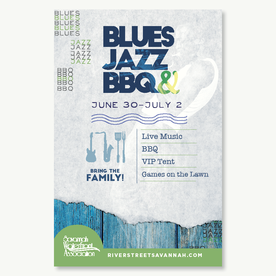 Posters | Blues Jazz BBQ